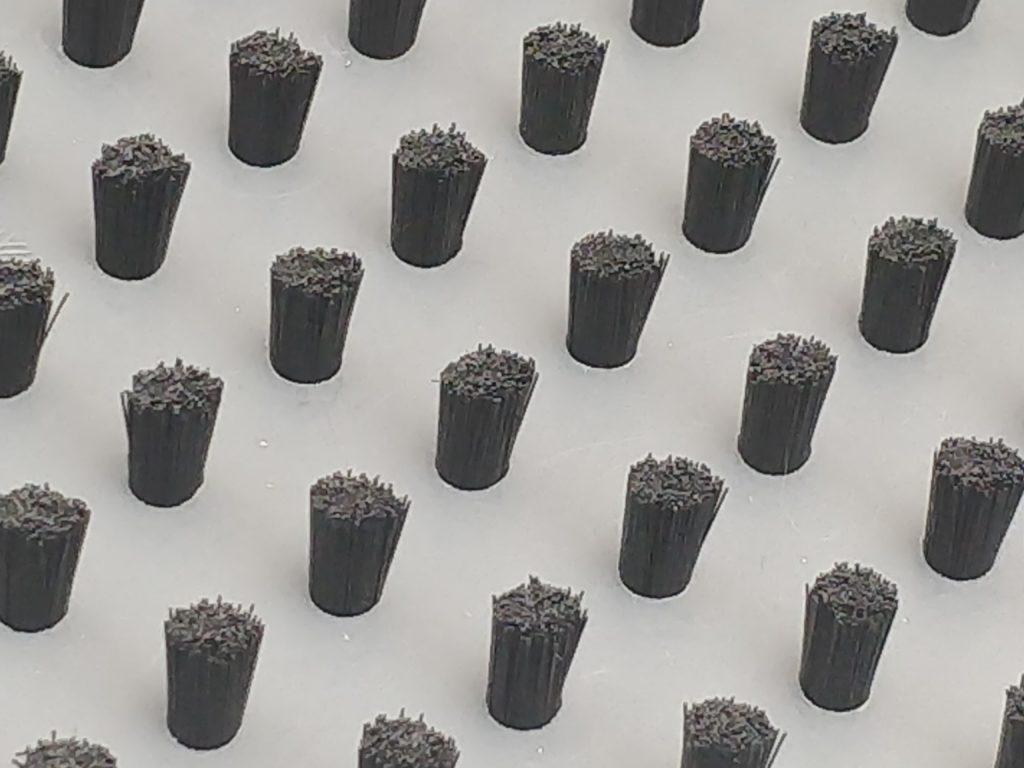 fibras para placas de cepillo de protección