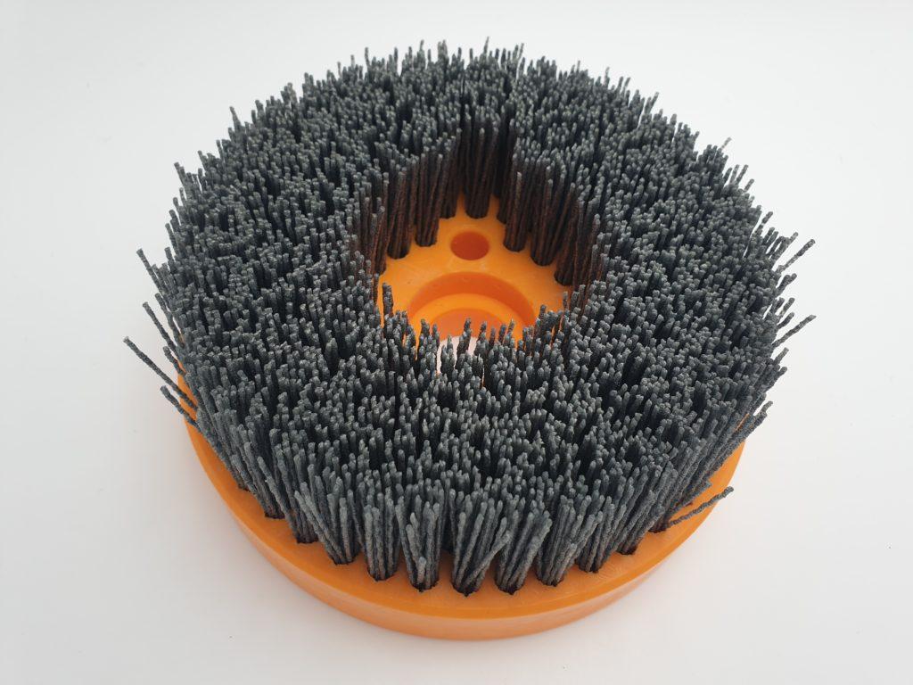 cepillo plato circular desbarbado